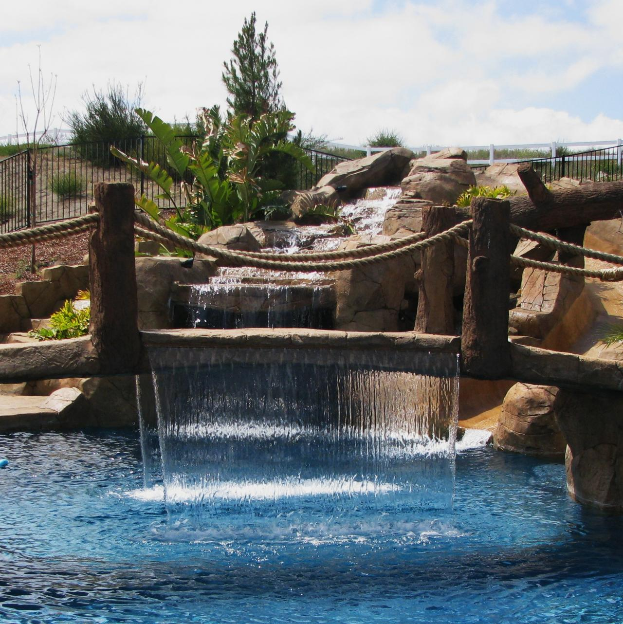 business custom designs pool building negative edge infinity pools